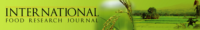 International Food Research Journal